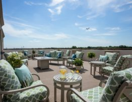 Roof-Top Patio at The Radcliff